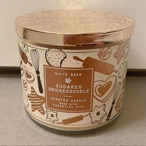 BBW sugared snickerdoodle 3 wick candle